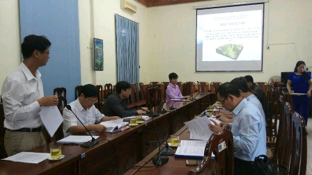Appraisal Council for Identifying the forest area in the watershed of individual hydropower project as a basis for the implementation of the policy for payment for forest environmental services in Son La province in 2017.
