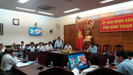 The second Video Conference about Adjusting plan of three forest types in Binh Thuan province for the period 2016 - 2025
